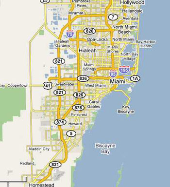 Miami Florida Map.Dumpster Rental In Miami Fl Low Prices For Dumpsters In Miami